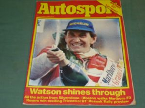AUTOSPORT 1981 July 23 British GP, BTCC, F3, Russek Rally, etc